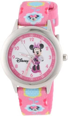 Disney Kids' W000036 Minnie Mouse Time Teacher Stainless Steel Watch