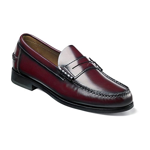 [Florsheim, Berkley (Red/10.5 D(M) US)] (Dress Loafer Beef Roll)