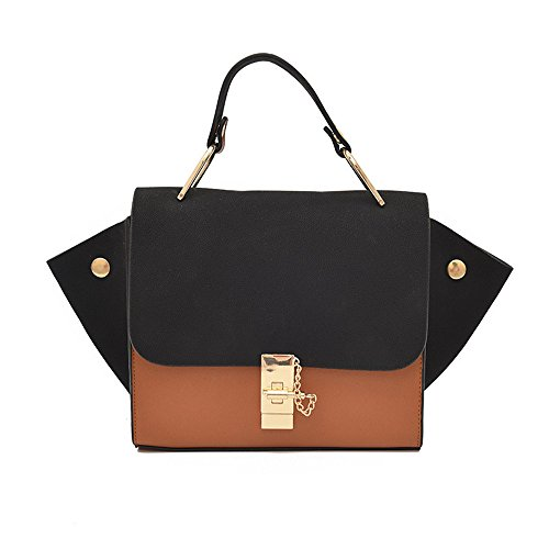 Shoulder Moda nero Meaeo Diagonal nero Personality Bag Handbags Wild Portable 4xH40IFq6