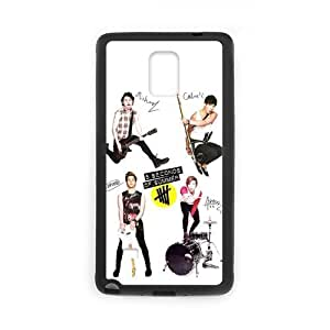 Onshop 5 Seconds of Summer 5SOS Pattern Custom Phone Case Laser Technology for SamSung Galaxy Note4