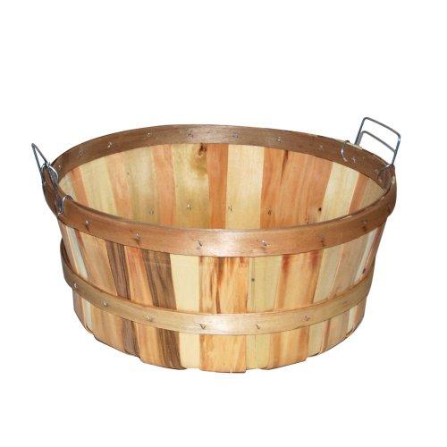 Texas Basket Company Shallow Bushel Basket (Baskets Of Apples)