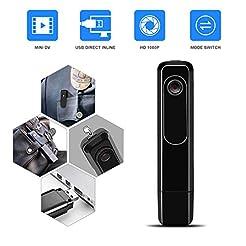 Mini Body Camera with USB Port DZFtech B...