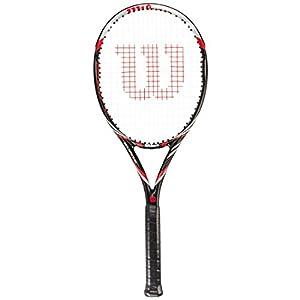 Wilson Tennisschläger Surge 100 BLX, Black/Red, One size, WRT72310U3