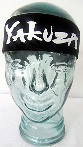 Tanaka - Martial Arts Headband Kendo Tenugui Samurai Yakuza- Stretch (Hachimaki -Ninja Shinobi Headband for Men/Women/Children Karate Kid