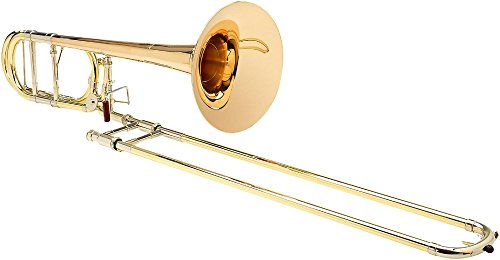 S.E. SHIRES TBQ30YR Q-Series Professional F-Attachment Trombone Lacquer Gold Brass Bell by S.E. SHIRES