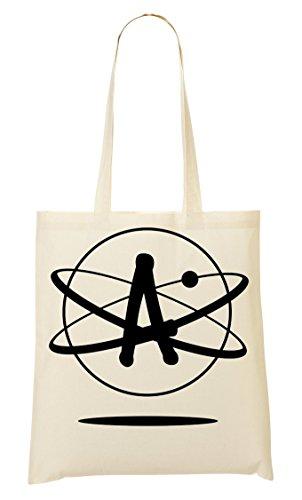 Atheism Symbol Handbag Shopping Bag