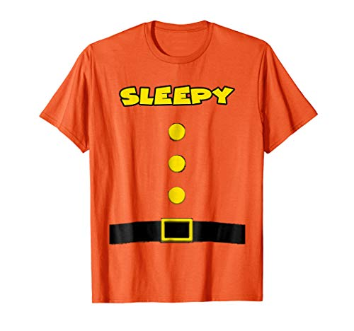 Sleepy Dwarf Halloween Costume Sleepy Dwarf T-shirt -