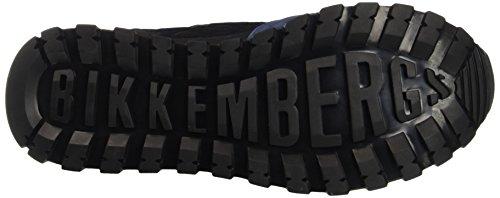 Bikkembergs Fend-er 739 Low Shoe M Nylon/Nabuk, Sandalias con Plataforma para Hombre Azul