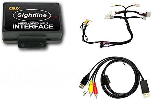 Crux AVITY-01 CRUX AVITY-01 A//V OEM Integration Kit for Select Toyota//Scion Vehicles 2012-Up