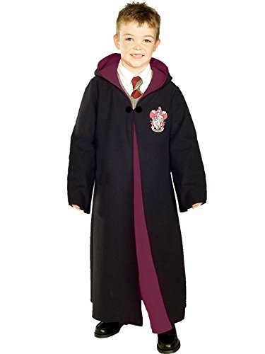 [Deluxe Gryffindor Robe Costume - Large] (Harry Potter Halloween Costumes Hermione)