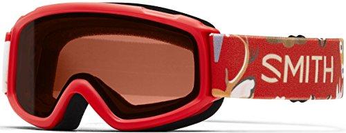 Smith Optics Sidekick Youth Junior Snowmobile Goggles Fire Animal kingdom / - Goggles Animal Ski