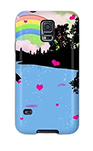 New Love Drops Tpu Skin Case Compatible With Galaxy S5