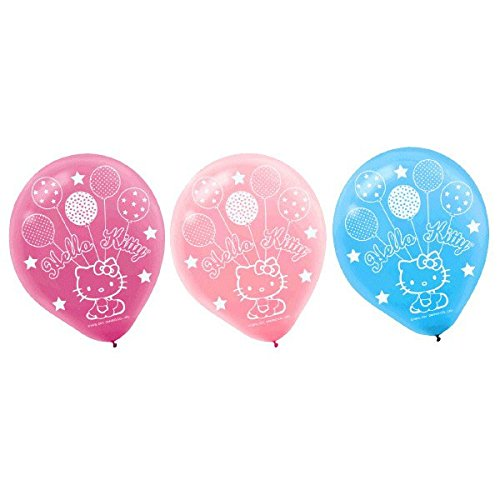 Amscan Printed Latex Balloons | Hello Kitty Balloon Dreams Collection | Party Accessory