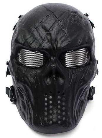 Intimidating airsoft masks mesh