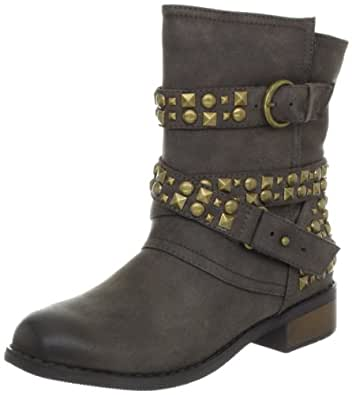 Dirty Laundry by Chinese Laundry Women's Showstopper Motorcycle Boot,Brown,6.5 M US