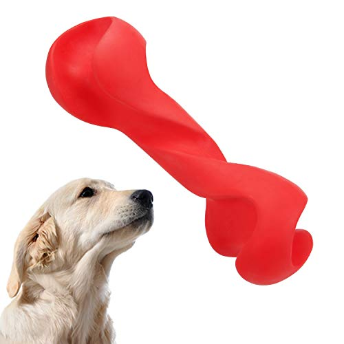 WingPet Dog Chew Toy - Tough Indestructible Dog Toys with Natural Durable Rubber, Puppy Dogs Chewers Bone & Stick Teething Toys , Great for Pets Dog Training - Exercise - -