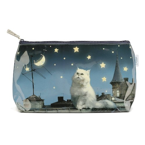 Rooftop Cat Washbag Large Makeup Bag By Buy Online In Guernsey At Desertcart