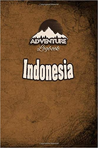 adventure logbook travel journal or travel diary for
