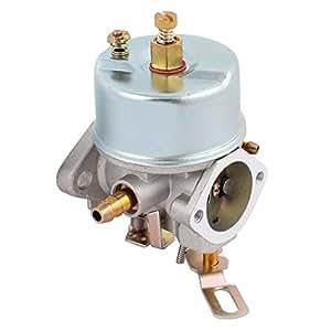Sourcingmap–® Nuevo carburador para Tecumseh motosierra partes de 640334cortadora de césped Carburador Carb