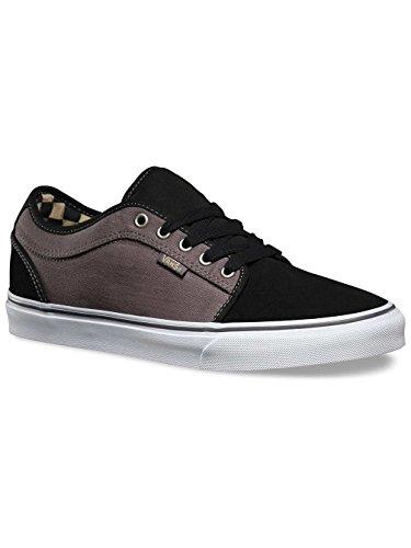 78d55389971bfa Galleon - Vans Chukka Low Shoes UK 7 Herringbone Black Pewter
