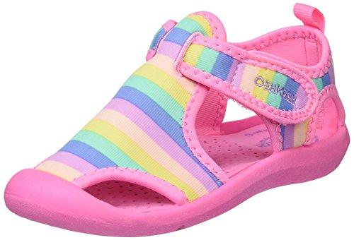 OshKosh B'Gosh Unisex-Kids Aquatic Girl's and Boy's Water Shoe, Multi Color, 11 M US Little Kid