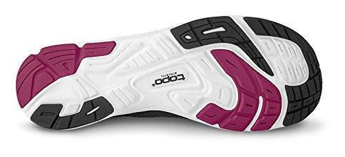 Topo Athletic Women's ST-2 Running Shoe B01FG8KU2I 9.5 B(M) US|Black/Raspberry