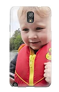 Rugged Skin Case Cover For Iphone 5/5S- Eco-friendly Packaging(fishing Kids )