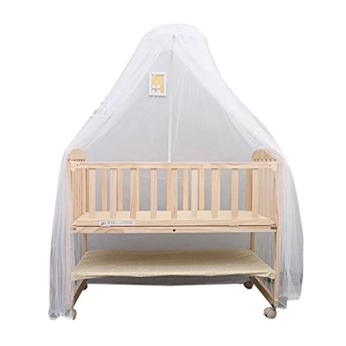KateDy White Baby Nursery Mosquito Net,Bed Crib Canopy for sale  Delivered anywhere in Canada