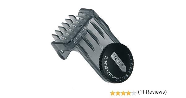 Rowenta - Inserto peine 1 - 15 afeitadora, recortador de barba ...