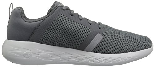 Mens Skechers Aller Courir 600-55069 Charbon De Baskets