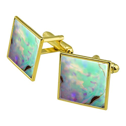 Gold Opal Cufflinks - 1