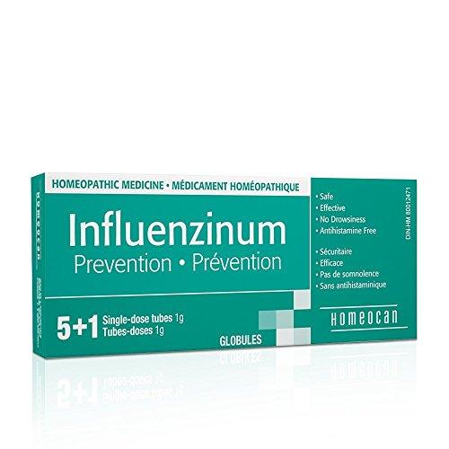 Influenzinum 9c 6 doses (6 Week Supply) Brand: Homeocan