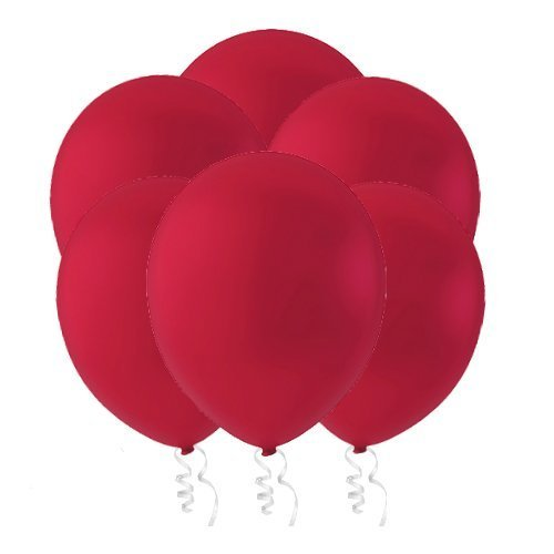"""Creative Balloons 12"""" Latex Balloons - Pack of 144 Piece - Decorator Cherry Red"""