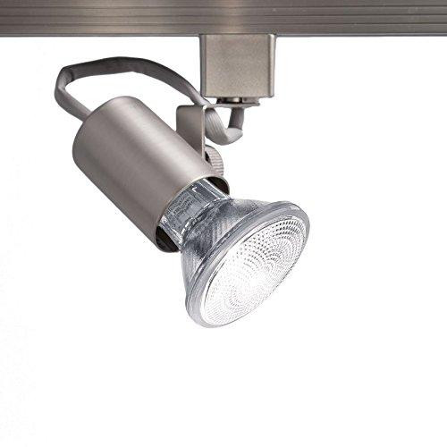 Contemporary Monorail Head (WAC Lighting HTK-178-BN H Series Line Voltage Track Head)