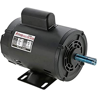 Grizzly Industrial G2901 - Motor 1/2 HP Single-Phase 1725 RPM Open 110V/220V