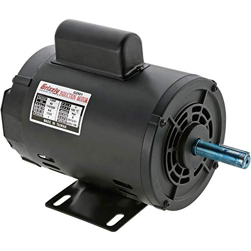 Grizzly G2901 Single-Phase Motor (1 2 Hp Electric Motor 1725 Rpm)