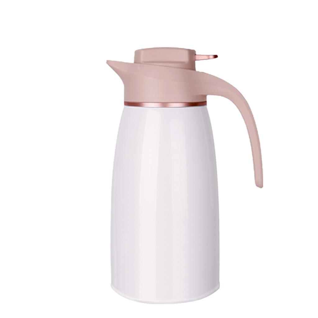 サーモス 断熱ポット、真空2L高容量断熱カートラベルマグカップフラスコ二重壁漏れ防止コーヒー食品ホット&コールドドリンクサーモスジャグG3   B07L5CYMLG