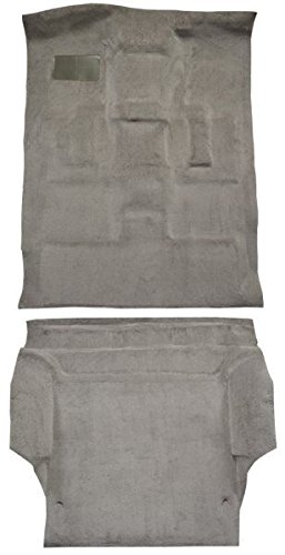 et Tahoe Carpet Custom Molded Replacement Kit, Complete Kit, 4 Door (8078-Dark Grey Plush Cut Pile) (Chevrolet Tahoe Carpet)