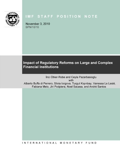 Impact of Regulatory Reforms on Large and Complex Financial Institutions: 10