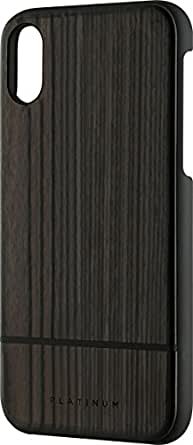 Case for Apple iPhone X - Burnt Wood