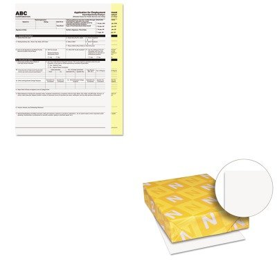 KITPMC59101WAU40411 - Value Kit - Pm Company Digital Carbonless Paper (PMC59101) and Neenah Paper Exact Index Card Stock (WAU40411)