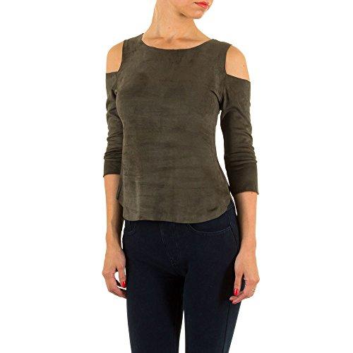 Ital-Design - Camiseta - para mujer Verde