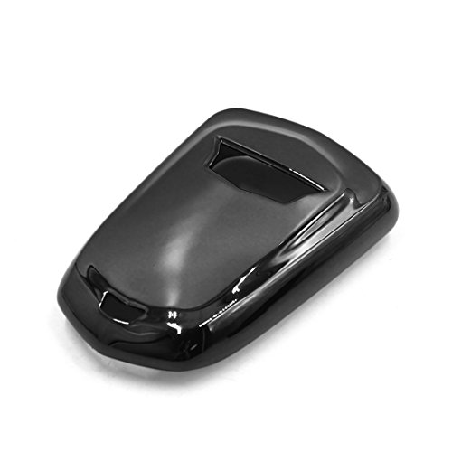 uxcell Black Plastic Remote Key Case Holder Shell Protect Cover Fit For Cadillac by uxcell