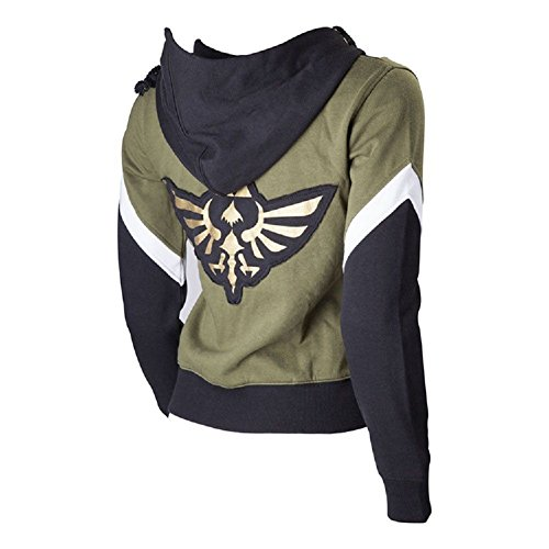 Zelda Costumes Hyrule Warriors (The Legend of Zelda Hoodie Link Costume Hyrule Warriors Zipper Coat Jacket)