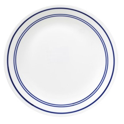 "Corelle Livingware Classic Café Blue 10-1/4"" Dinner Plate (Set of 4)"