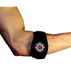 Tennis Elbow Brace - Pain Relief for Tennis & Golfer's Elbow-2-Pack Premium Elbow Strap with Bonus E-Book-Includes 2 Elbow Support Bands with Compression Pad–Best Solution for Forearm Tendonitis