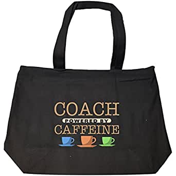 Coach Powered By Caffeine - Tote Bag With Zip