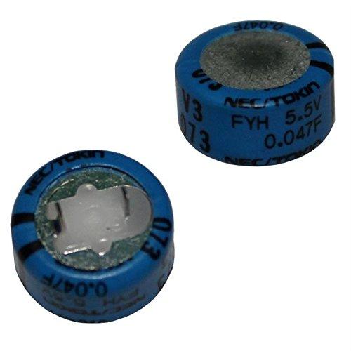 5x Goldcap Condensador 0, 22F 5, 5V ; 5mm d14x14mm ; FYD0H224ZF IT-Tronics