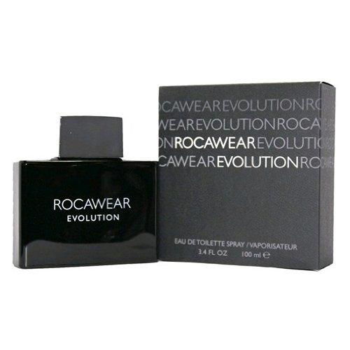 Rocawear Evolution Men Eau De Toilette Spray, 3.4 Ounce