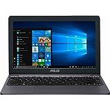 "Asus Vivobook E203MA Thin and Lightweight 11.6"" HD Laptop, Intel Celeron N4000 Processor, 2GB RAM, 32GB eMMC Storage, 802.11AC Wi-Fi, HDMI, USB-C, Win 10"